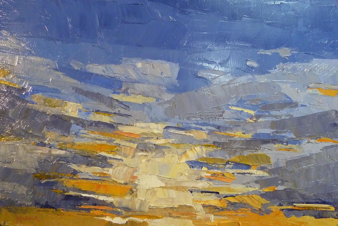Chromascape 116- Yellow Blue Sky