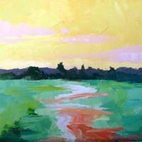Sunlit River